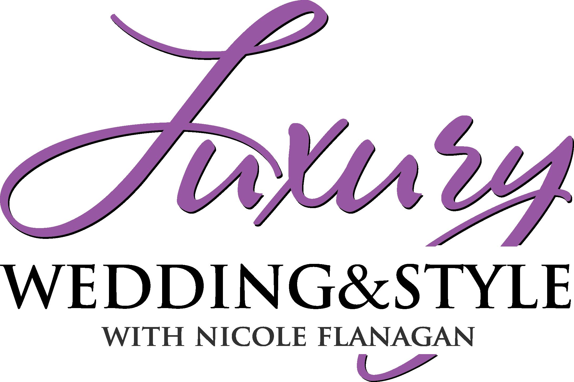 Luxury wedding and style_logo